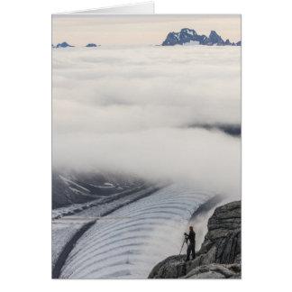 Clouds Breaking Greeting Card (Blank inside)