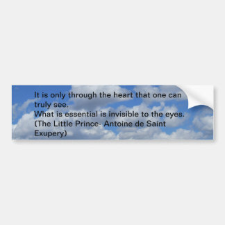 Clouds Bumper Sticker