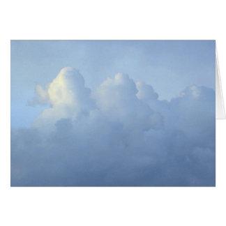 Clouds Card