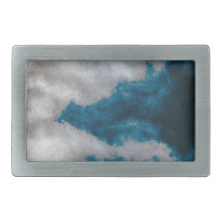 Clouds changing belt buckle