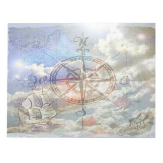 Clouds Compass Notepad