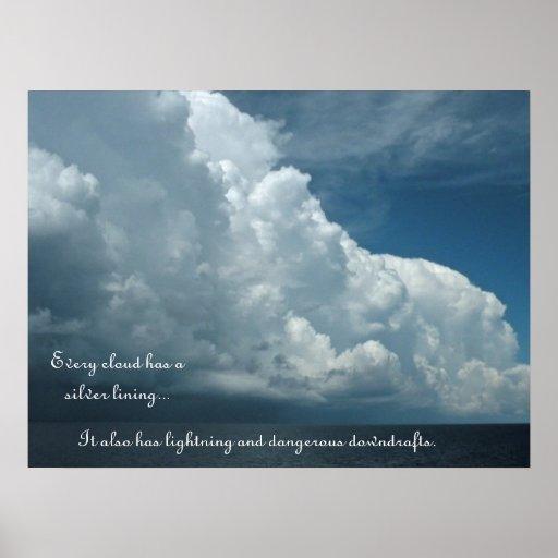 Clouds De-Motivational Poster