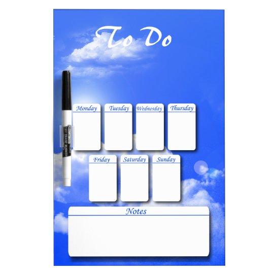 Clouds Dry Erase Board