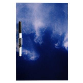 Clouds Dry Erase White Board