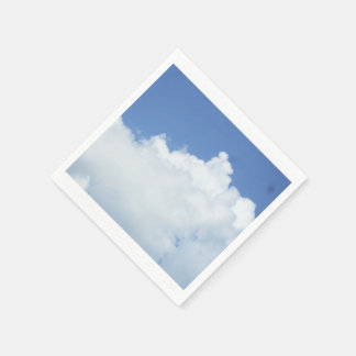 Clouds in Blue Sky Paper Napkins