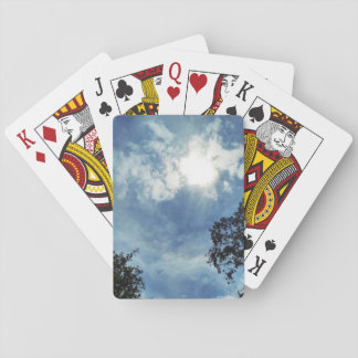Clouds in Boothbay Theme Playing Cards Index faces