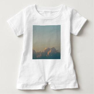 clouds in romania baby romper