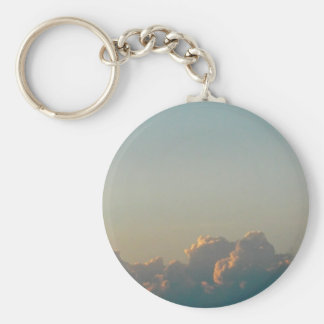 clouds in romania keychain