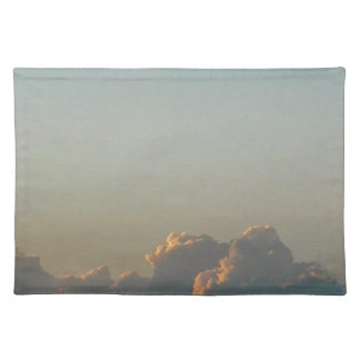 clouds in romania placemat