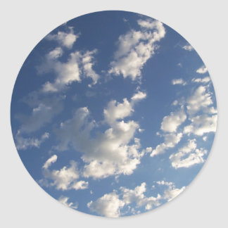 clouds in sky stickers
