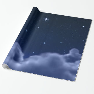 Clouds in Space Wrapping Paper