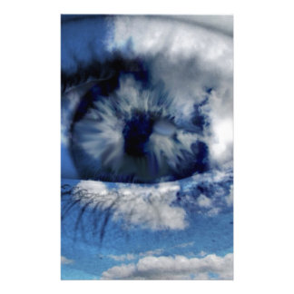 clouds in view stationery