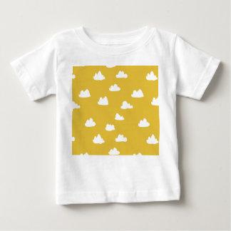 Clouds / Neutral Mustard Yellow / Andrea Lauren Baby T-Shirt