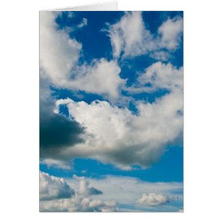 Clouds/ Note Card