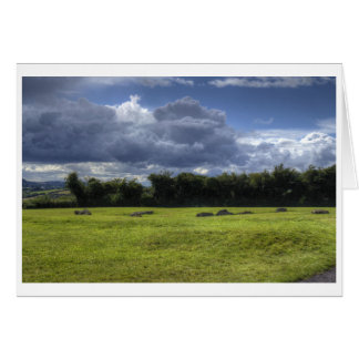 Clouds of Newgrange Card