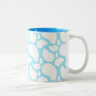 Clouds of Sheep Two-Tone Coffee Mug