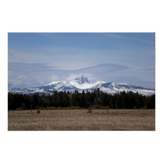 Clouds on Three Fingered Jack Posters