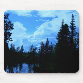 Clouds over campsite in northern Maine. Mouse Pad