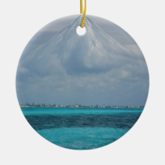 Clouds Over Grand Cayman Ornament