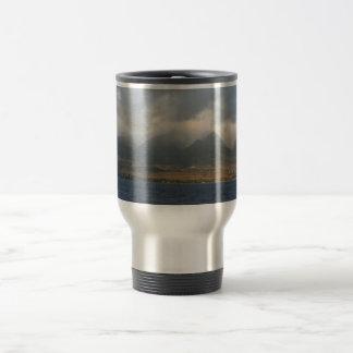 Clouds Over Maui Travel Mug