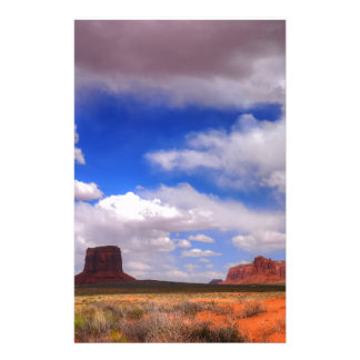 Clouds over Monument Valley, UT Stationery