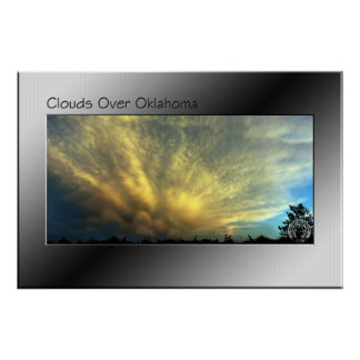 Clouds Over Oklahoma Poster