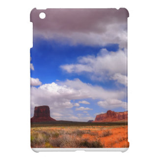 Clouds over the desert iPad mini cover