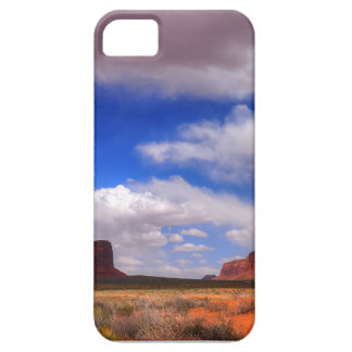 Clouds over the desert iPhone 5 case