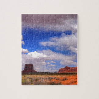 Clouds over the desert jigsaw puzzle
