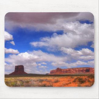 Clouds over the desert mouse pad