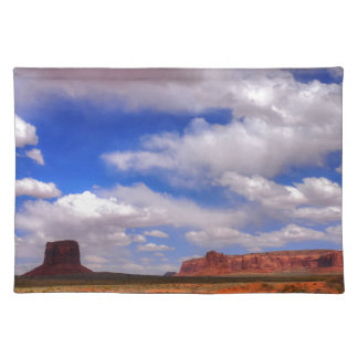 Clouds over the desert placemat