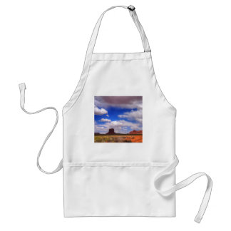 Clouds over the desert standard apron