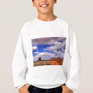 Clouds over the desert sweatshirt