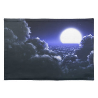 """Clouds Over The Moon"" Placemats"