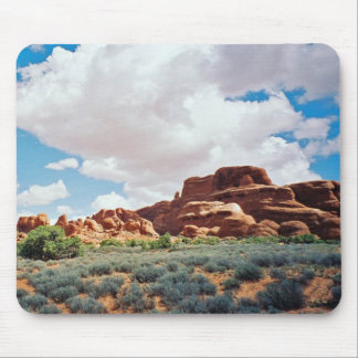 Clouds Over Utah Mousepad
