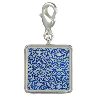 Clouds pattern photo charms