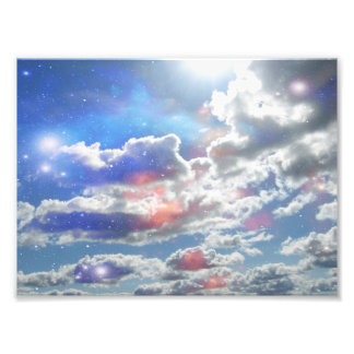 Clouds Photo Print