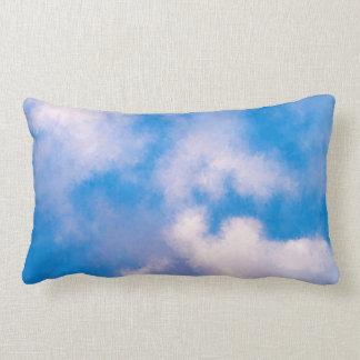 Clouds Polyester Throw Pillow, Lumbar Pillow