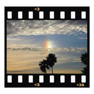 clouds- rainbow  (sundog) photo