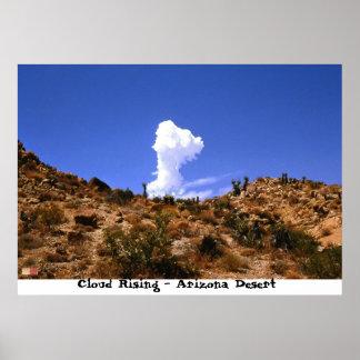 Clouds Rising - Arizona Desert Poster
