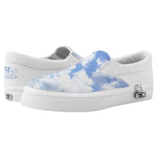 Clouds Slip Ons