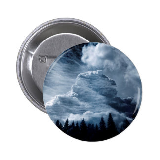 Clouds Temple 2 Inch Round Button