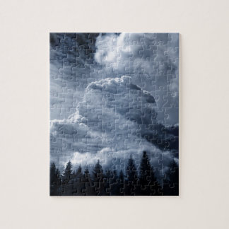 Clouds Temple Jigsaw Puzzle