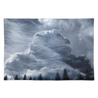 Clouds Temple Placemat