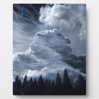 Clouds Temple Plaque