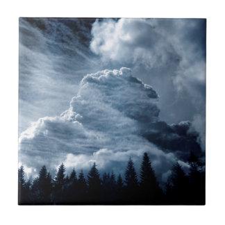 Clouds Temple Tile