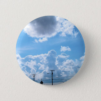 clouds trippin in kotz 2 inch round button