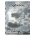 Clouds Wedding Guestbook Notebooks