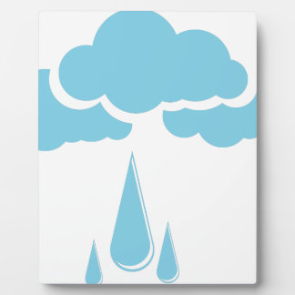 Clouds with drizzle plaque