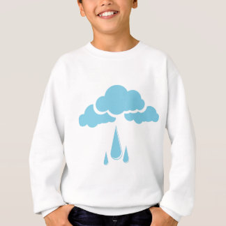 Clouds with drizzle sweatshirt